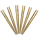 Totally Bamboo Twist Reusable Bamboo Chopsticks, Set of 5 Pairs