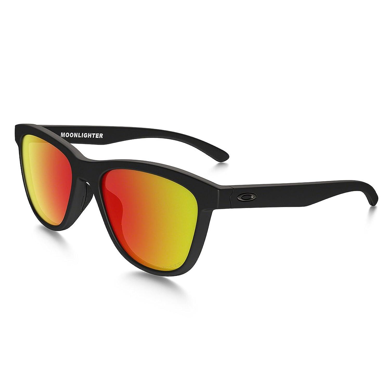 Damen Sonnenbrille Oakley Moonlighter Matte Black Sonnenbrille