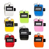 (Price/8 pcs)GOGO Tally Counter, Plastic Tally Counter Clicker, Mixed Colors