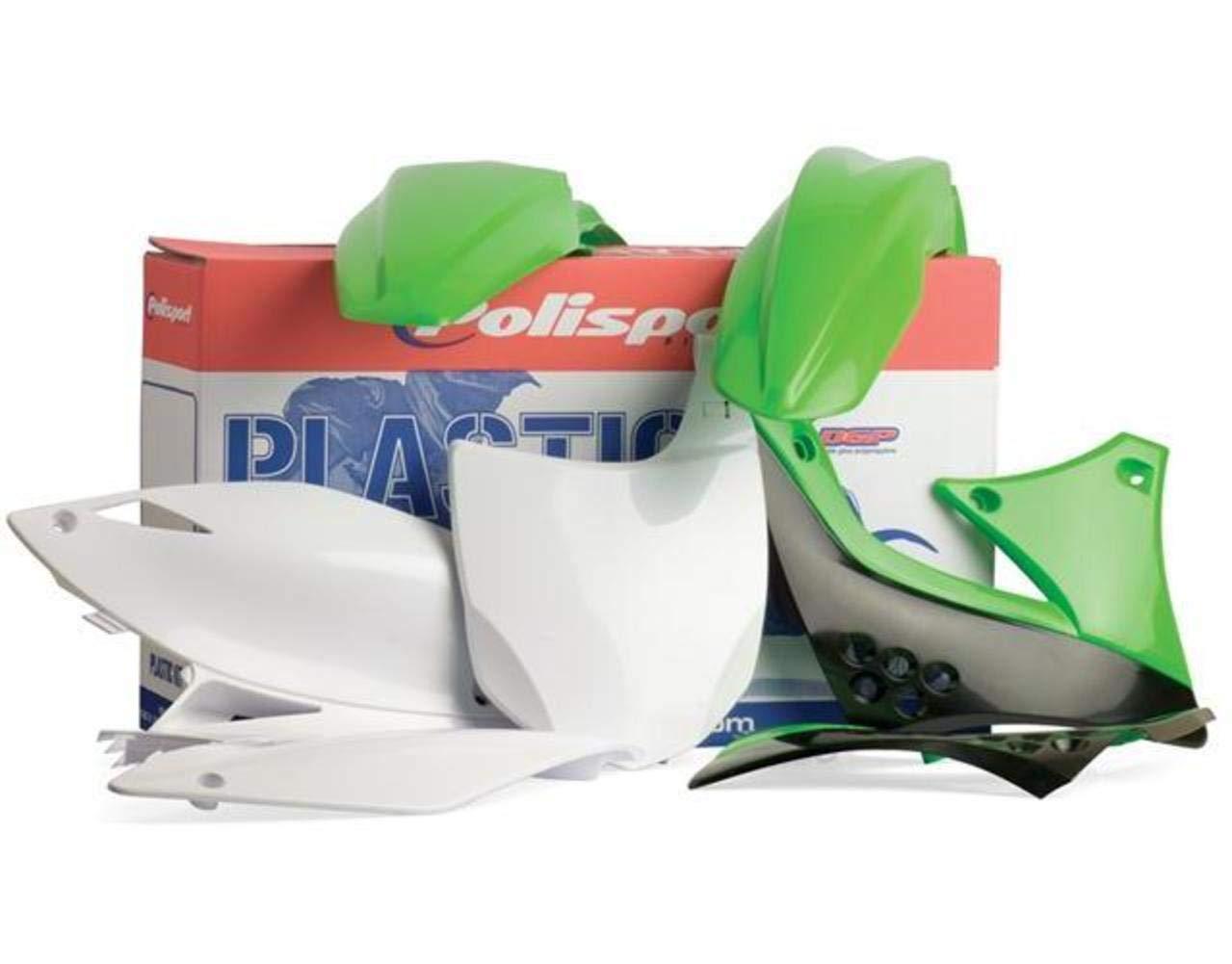 Polisport Plastics Kit Green for Kawasaki KX250F 04-05