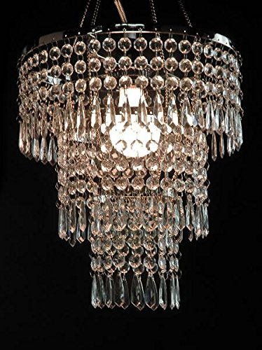 Richland Crystal Pendant Chandelier 3-Tier 12