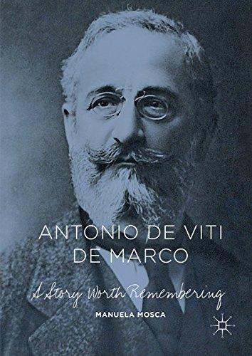 Antonio de Viti de Marco: A Story Worth Remembering