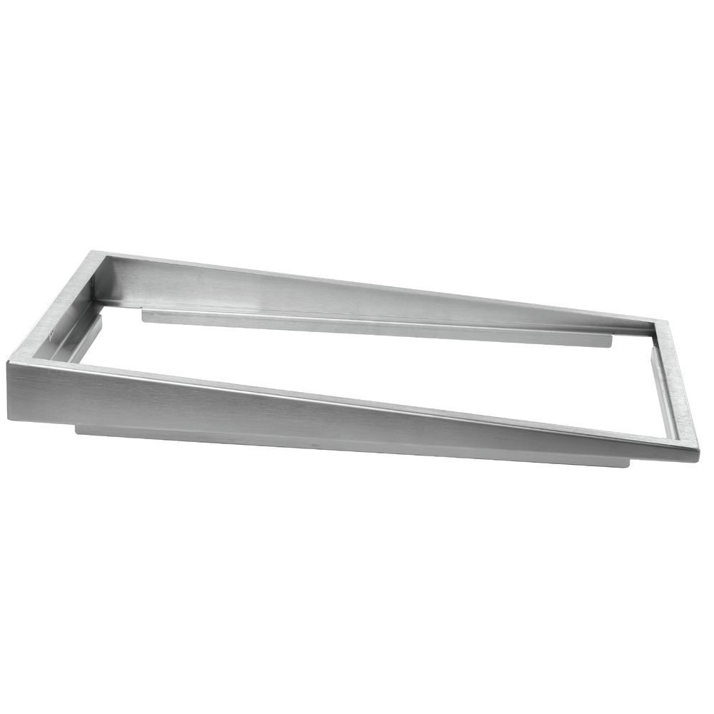 20L x 12W x 2H Steam Table Pan Riser Full Size Super Low Profile Stainless Steel Pan Elevator