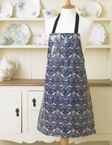 Floral & Bird Themed PVC Apron
