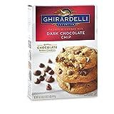 (US) Ghiradelli Dark Chocolate Chip Premium Cookie Mix 16.75 oz. (Pack of 2)