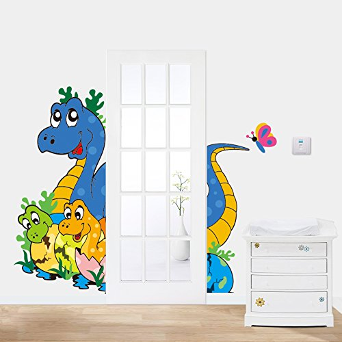 Ryuan DIY Cartoon Dinosaur Nursery Wall Decals Stickers Removable Decorative Decor(45
