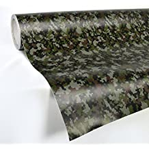 VVIVID Digital Camouflage Vinyl Wrap Film for DIY No Mess Easy to Install Air-release Adhesive (1ft x 5ft) by VViViD