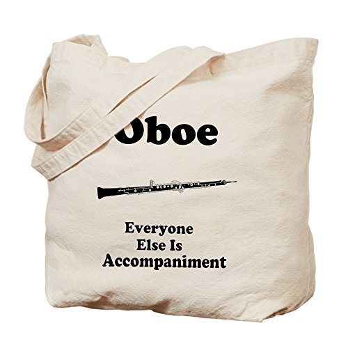 Oboe音楽Joke – コットンキャンバスショッピングバッグ、トートバッグバッグDesigned by leiacikl22 B078S1NPR9