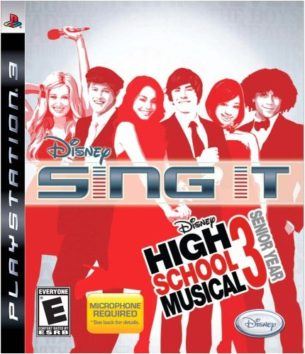 Sing It! High School Musical 3: Senior Year - Playstation 3 (Game Only)