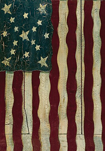 (Toland Home Garden Freedoms Gate 28 x 40 Inch Decorative Rustic Patriotic America USA July 4 House Flag)