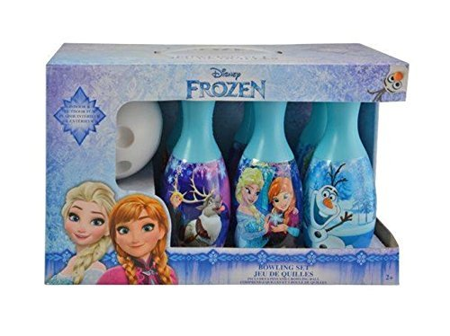 Disney Frozen Bowling Set and Jump Rope featuring Anna Elsa Olaf