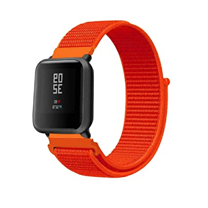 Amazon.com: ⌚ Replacement Nylon Velcro Sport Loop Wrist ...