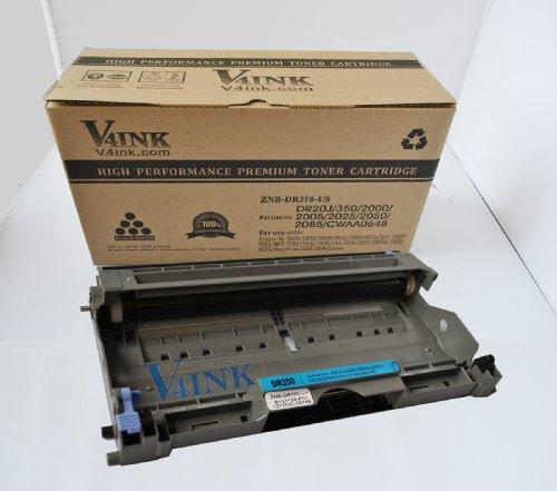 V4INK® New Compatible Brother DR350 Drum Unitfor Brother DCP-7020, HL-2030, HL-2040, HL-2070N Toner Printers, Office Central