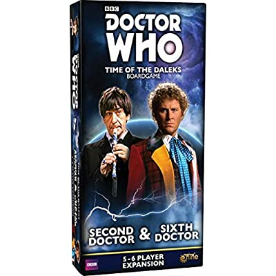 Doctor Who: Time of the Daleks - Second Doctor and Sixth Doctor Expansion: Toys & Games