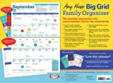2021 Amy Knapp's Big Grid Family Organizer Wall