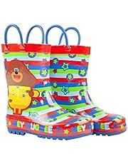 Hey Duggee Boys regenlaarzen Wellington draaghandschoenen voor kinderen
