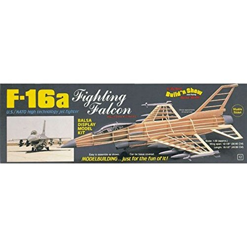 Fighting Falcon Kit (Guillow's F-16 Fighting Falcon Model Kit)