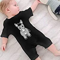 WERNG Donkey Baby Boys Girls Romper Bodysuit Infant Funny Jumpsuit Outfit 0-2T