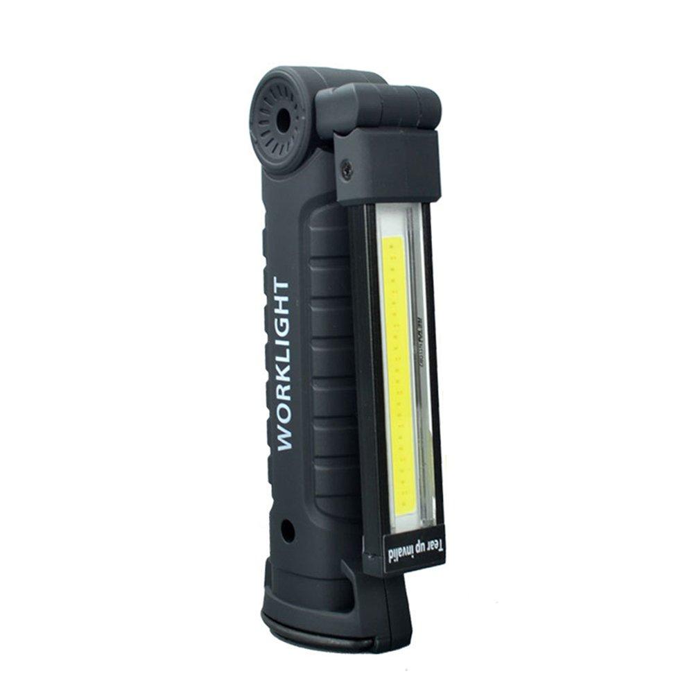 Campeggio torcia LED Lightwith magnetico e gancio per appendere ispezione lampada design pieghevole portatile ricaricabile USB resistente WERTAZ