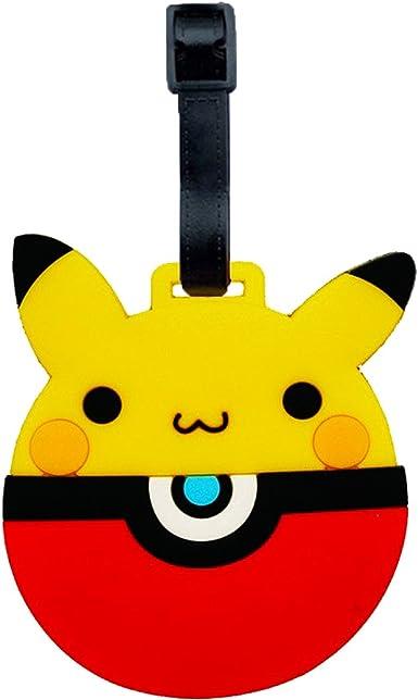 Baggage Tag Luggage Anime Pikuchu Travel Label