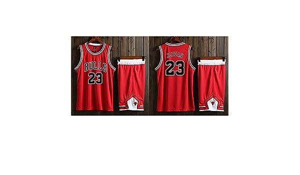 WWJIE Chicago Bulls # 23 Michael Jordan Uniformi de Basket ...