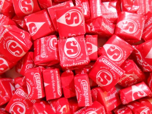 Cherry Starburst Chewy Red Starburst Candy 2lbs -