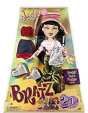 Bratz 20 Yearz Special Edition original modedocka jade – holografisk förpackning & affisch – samlarobjekt – 20 Yearz motiv, fan Fave Rerelease 2001 replika – inkluderar 2 kläder, skor, väska och mer