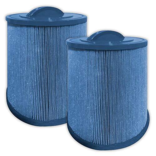 (GAURDIAN ANTIMICROBIAL POOL/SPA 2 PACK Filters fit: Pleatco:PAS50SV-F2M, Unicel: 6CH-502, Filbur: FC-031 Artesian spas, MAJESTIC ANTIBACTERIAL, MICROBAN)