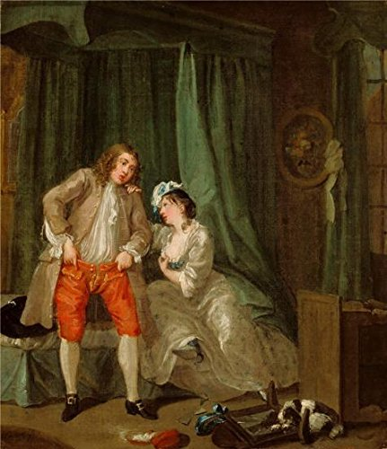 Jim Gordon Halloween Costume (Oil Painting 'After,about 1730 - 1731 By William Hogarth' Printing On Perfect Effect Canvas , 18x21 Inch / 46x53 Cm ,the Best Game Room Gallery Art And Home Decoration And Gifts Is This Amazing Art Decorative Canvas Prints)