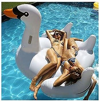 Beach Toy® - Flotador hinchable CISNE BLANCO gigante, 2 - 3 ...