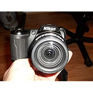 Nikon L105 12.1 MP Digital Camera with 15x Optical Zoom - Black