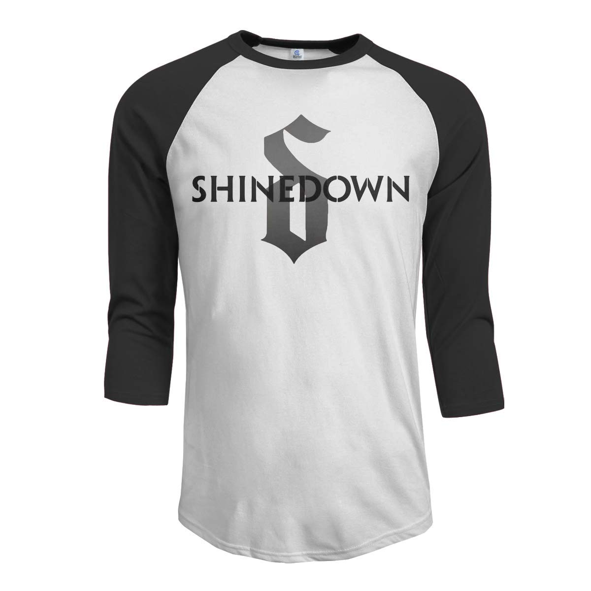 Macwe Shinedown S 3 4 Sleeve Baseball Black Shirts