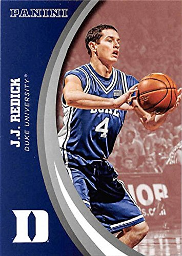 J.J. Redick basketball card (Duke Blue Devils) 2015 Panini Team Collection #29