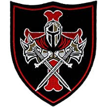 Templar Knight Crusader Patch 4 inch IVANP4974