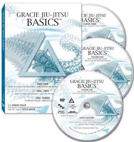 Gracie Jiu-Jitsu Basics - 3 Disc DVD Set