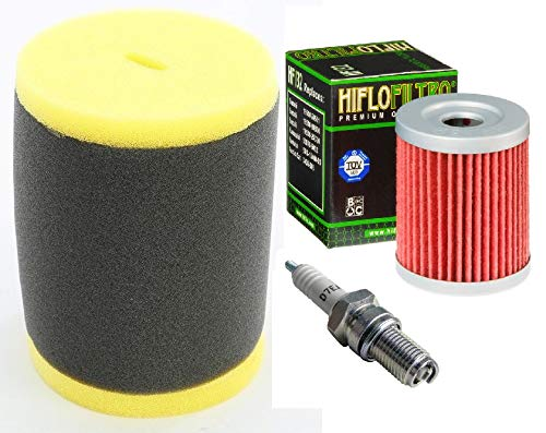- Tune up Kit Oil Filter Air Filter Spark Plug for Suzuki King Quad 300 Quadrunner 250 4WD LT-F