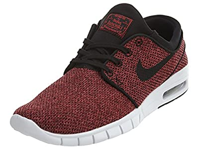 Nike Mens Stefan Janoski Max Track Red/Black-cedarSneakers - 11 D(M) US