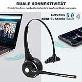 Trucker Bluetooth Headset, Angteela Wireless