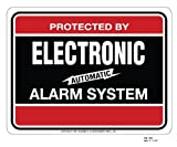SECURITY SIGN – #103 BURGLAR ALARM SYSTEM WARNING SIGN Review