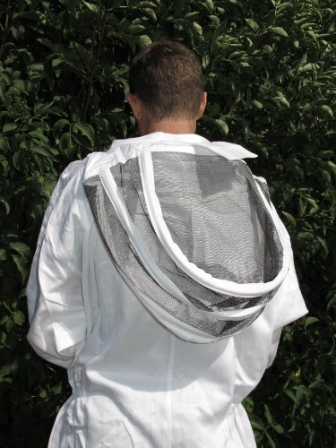 Beekeepers Bee Suit With Removable Fencing Veil - XXXL