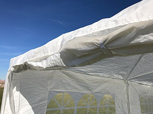 Palm Springs Outdoor 10 x 20 Wedding Party Tent Canopy with 4 Sidewalls by Palm Springs (Image #5)