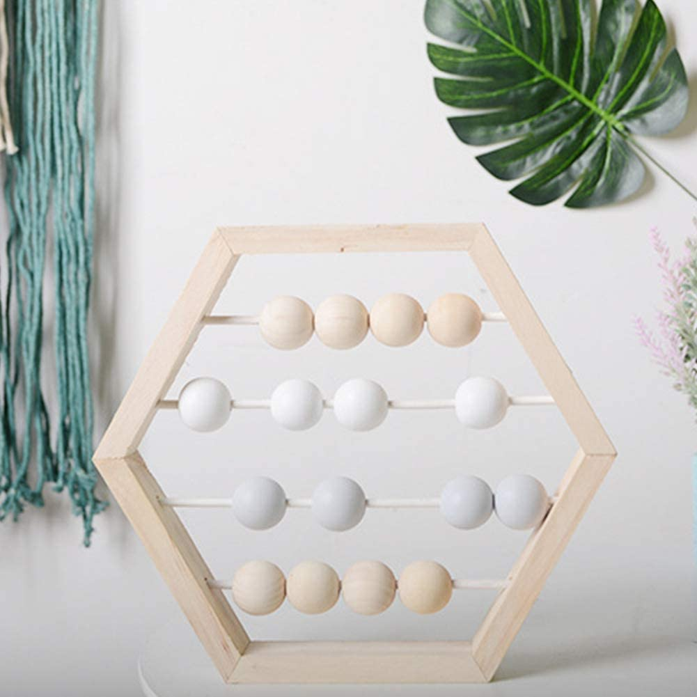 Fayeille Abacus Toy for Kids Wooden Math Game Abacus Toy for Toddlers Early Childhood Education