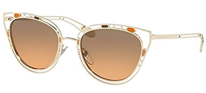 Bvlgari 0BV6104 20238G 54, Gafas de Sol para Mujer, Negro ...