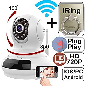 Amazon.com : WantSee Wireless Wifi Ip/network Video ...