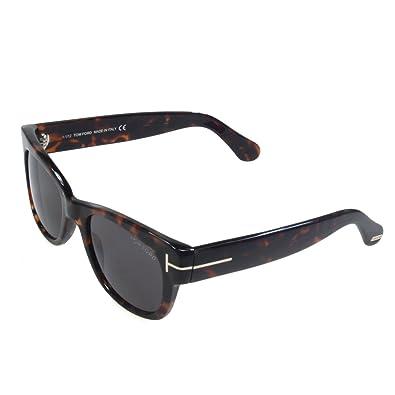 894c81849465 Tom Ford Cary FT0058 182 Shiny Dark Havana  Amazon.co.uk  Shoes   Bags