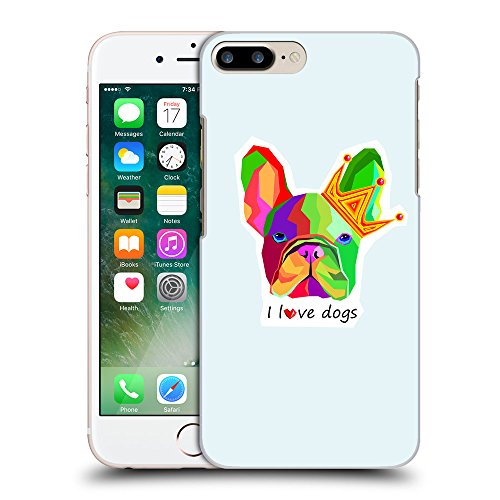 GoGoMobile Coque de Protection TPU Silicone Case pour // Q05090619 Mignon bouledogue Bulles // Apple iPhone 7 PLUS