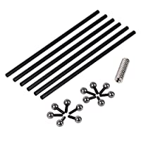 Witbot 200mm 46 mm carbon rod kits with paralle Magnetic Steel Ball for K800 Delta Kossel 3D printer by Witbot