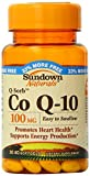 Sundown Naturals Co Q-10, 100 mg, 40 Softgels (Pack of 2)