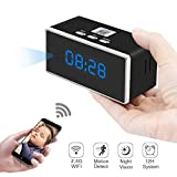 Hidden Spy Camera, ZTCOO Mini Hidden Clock Camera Wi-Fi,Secret Camera with Motion Detection, Night Vision, Video Recorder, HD Wireless Nanny Cam for Home Security Review