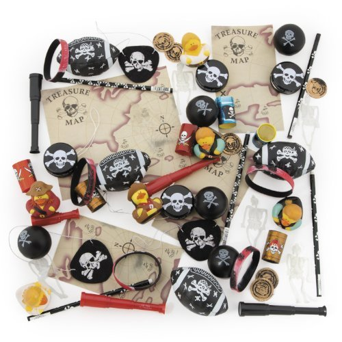 Pirate Toy Assortment (50 pc) -
